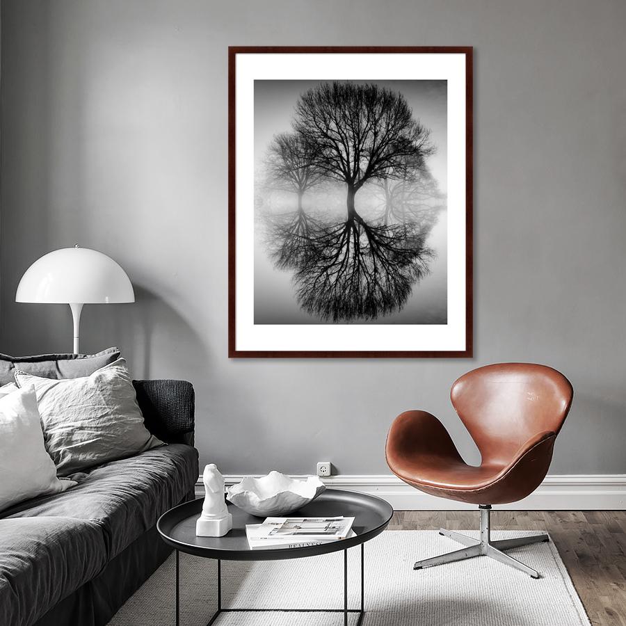{} Картины в Квартиру Картина Дерево На воде (102х130 см) картины в квартиру картина дерево на воде 102х130 см