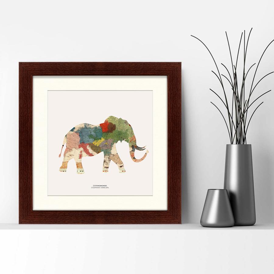 {} Картины в Квартиру Картина Африканец (35х35 см) картины в квартиру картина бульдоги в шотландской клетке 35х35 см
