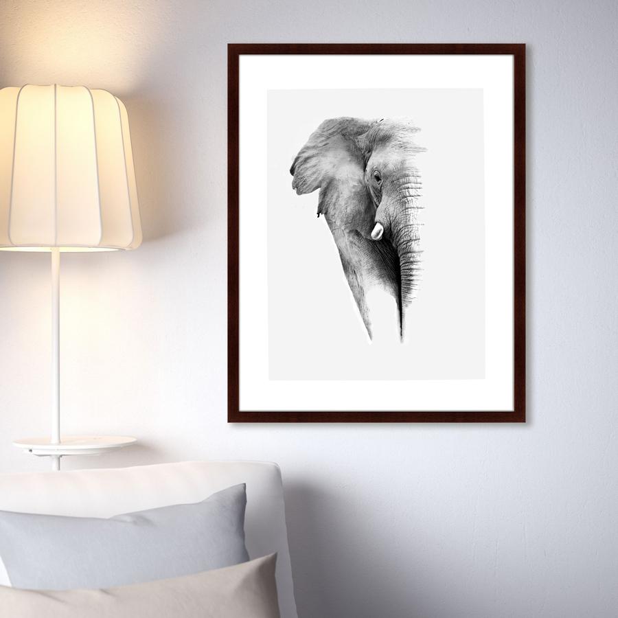 {} Картины в Квартиру Картина Слон (79х100 см) картины в квартиру картина слон 79х100 см
