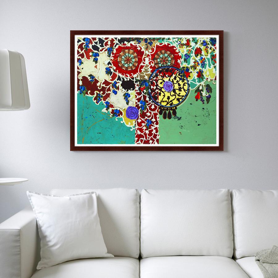 {} Картины в Квартиру Картина Суккулентные Баклажаны (79х100 см) картины в квартиру картина бульдоги в шотландской клетке 35х35 см