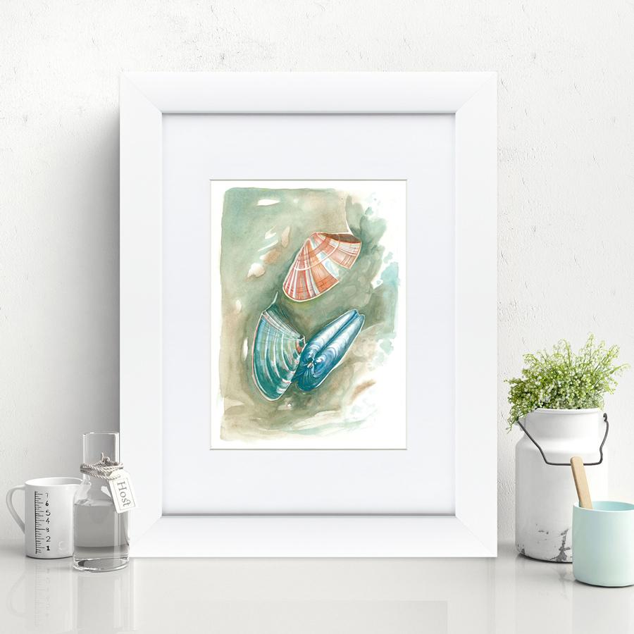 {} Картины в Квартиру Картина Морские Мидии №2 (35х45 см) картины в квартиру картина опасные домохозяйки 2 35х35 см