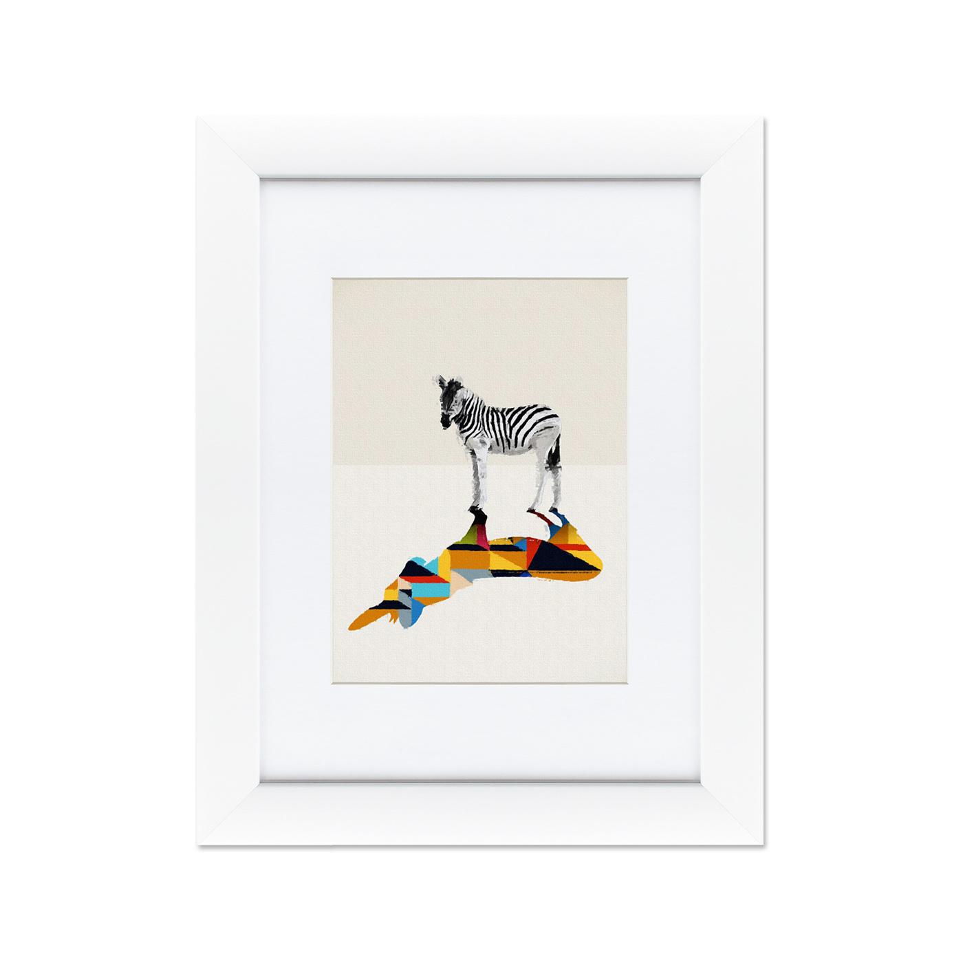 {} Картины в Квартиру Картина Зебра (35х45 см) картины в квартиру картина бульдоги в шотландской клетке 35х35 см