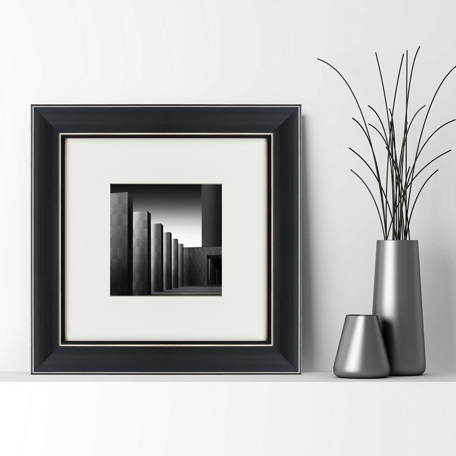 {} Картины в Квартиру Картина Black Square №3 (35х35 см) картины в квартиру картина бульдоги в шотландской клетке 35х35 см