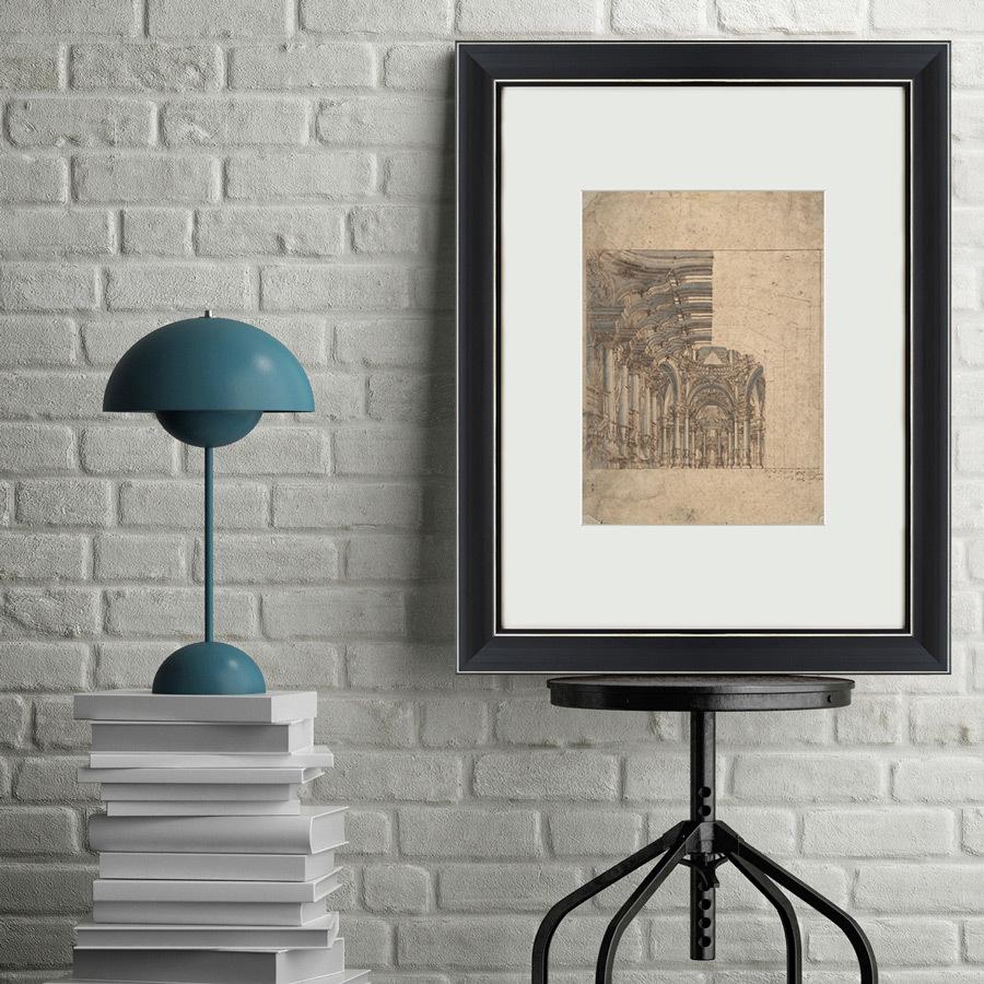 {} Картины в Квартиру Картина Design Of A Baroque Church (47х60 см) картины в квартиру картина пилигрим из мешхеда 47х60 см