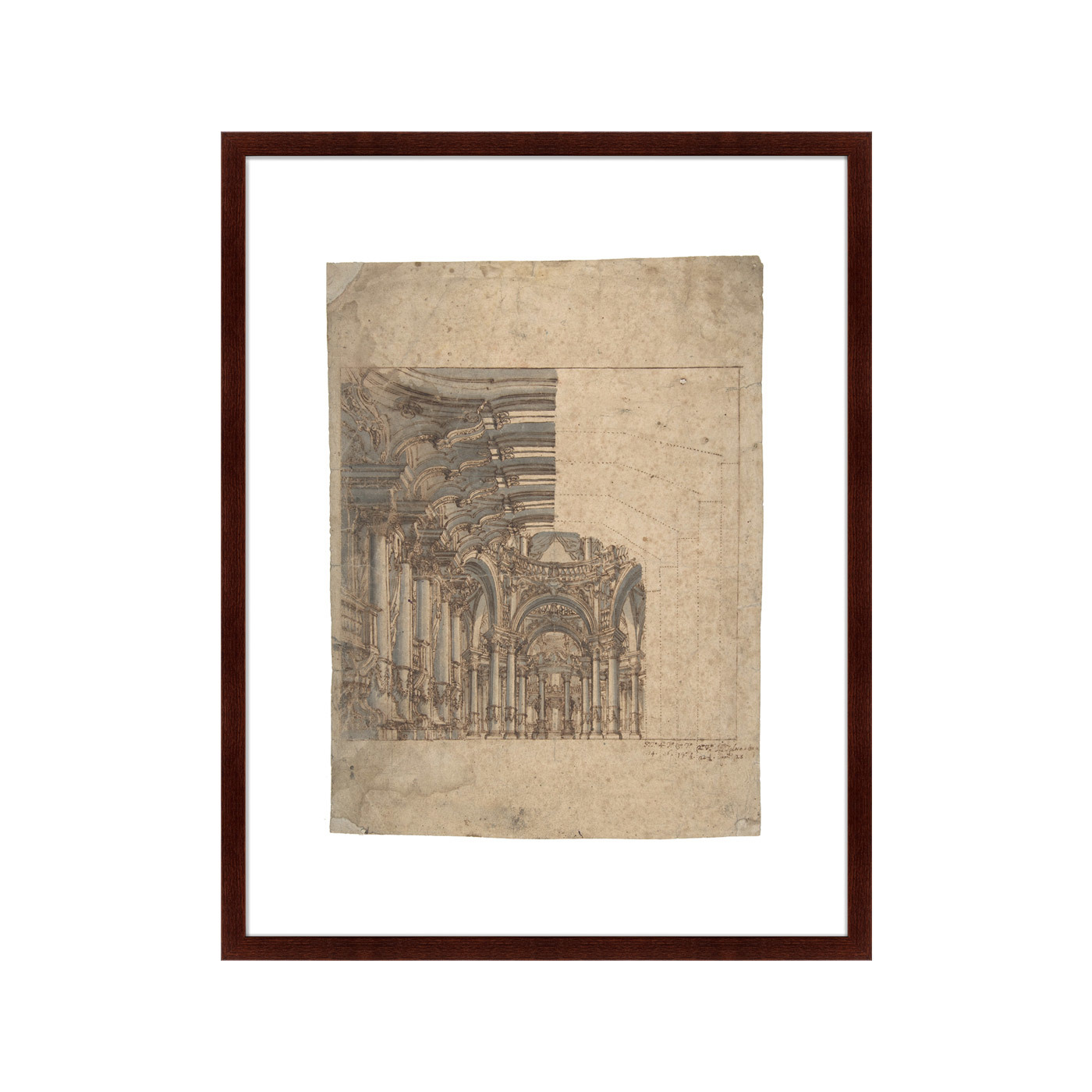 {} Картины в Квартиру Картина Design Of A Baroque Church (79х100 см) картины в квартиру картина игра света 79х100 см