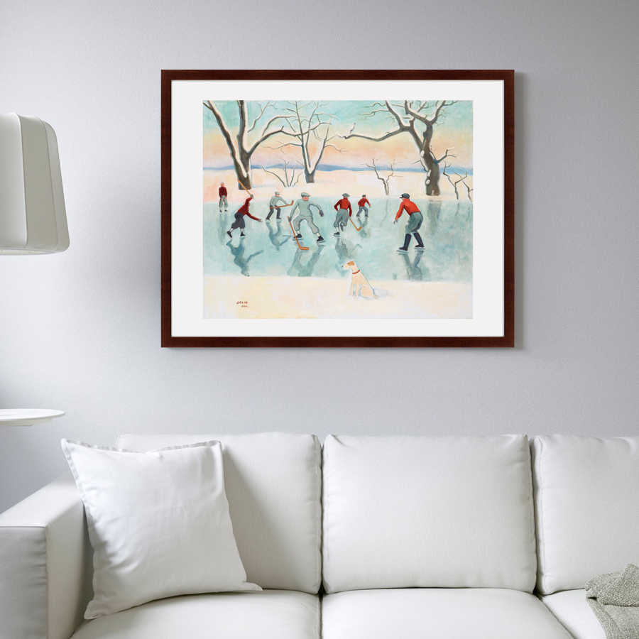 {} Картины в Квартиру Картина Хоккеисты (79х100 см) 4комнатную квартиру в энгельсе