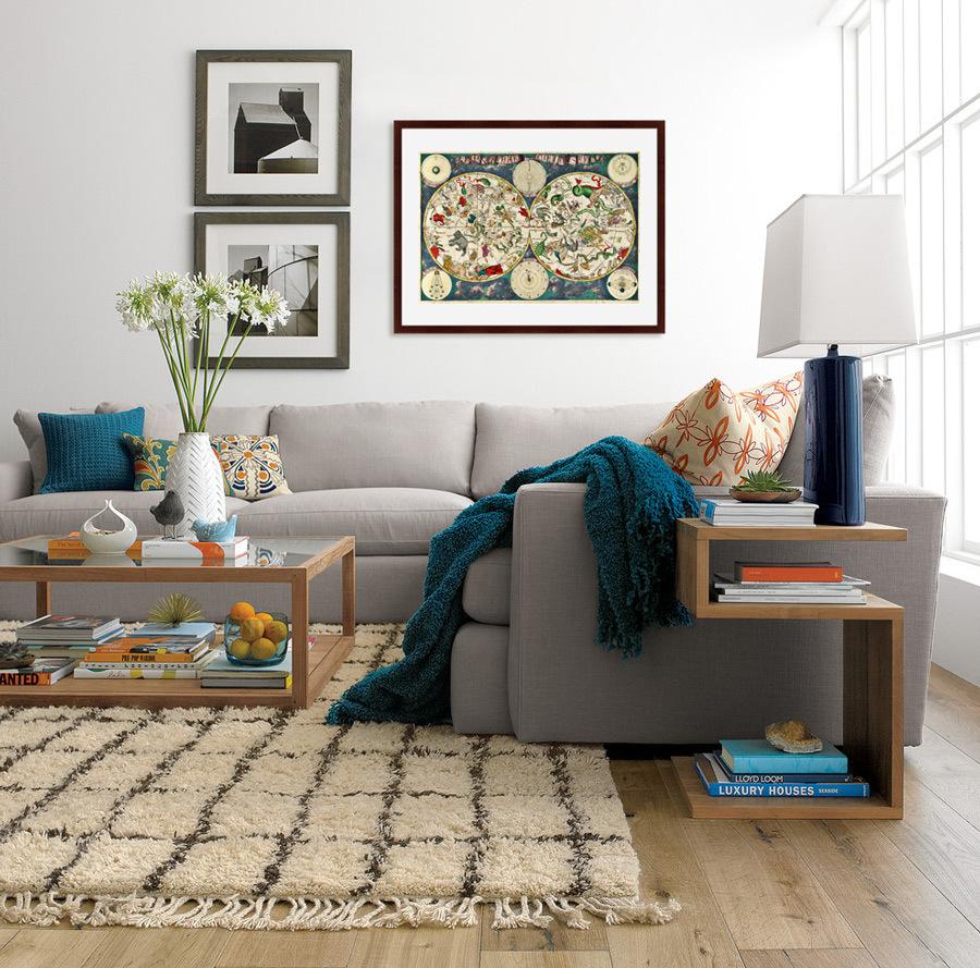 {} Картины в Квартиру Картина Карта Созвездий (79х100 см) картины в квартиру картина слон 79х100 см
