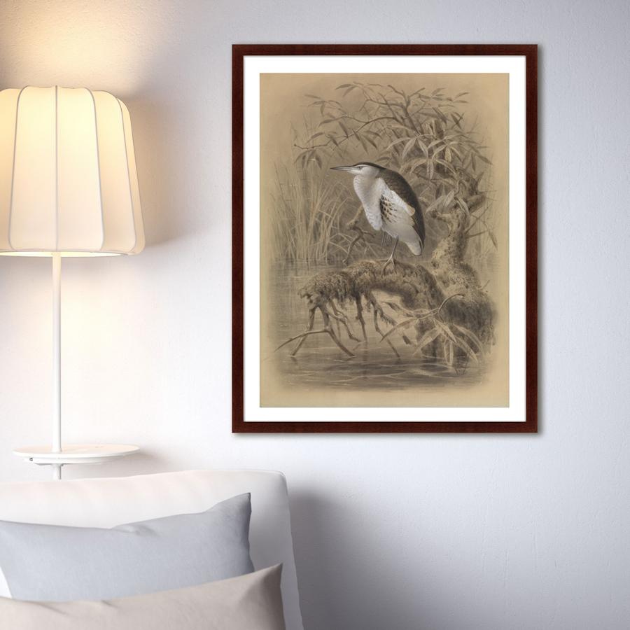 {} Картины в Квартиру Картина Птица У Озера (79х100 см) картины в квартиру картина игра света 79х100 см