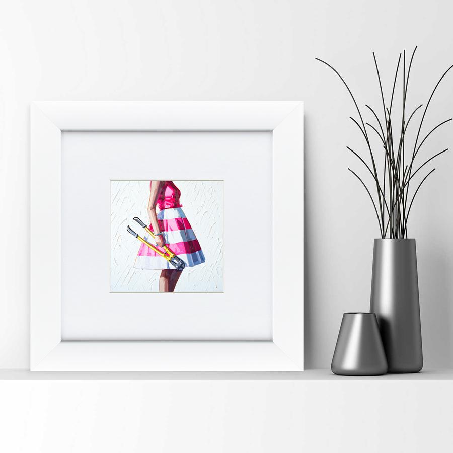 {} Картины в Квартиру Картина Опасные Домохозяйки №1 (35х35 см) картины в квартиру картина бульдоги в шотландской клетке 35х35 см