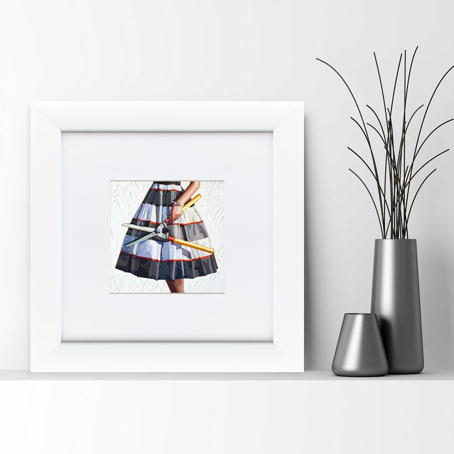 {} Картины в Квартиру Картина Опасные Домохозяйки №3 (35х35 см) картины в квартиру картина бульдоги в шотландской клетке 35х35 см
