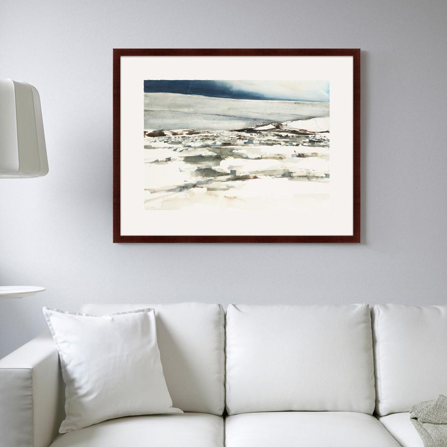 {} Картины в Квартиру Картина Снежный Холм (79х100 см) картины в квартиру картина бульдоги в шотландской клетке 35х35 см