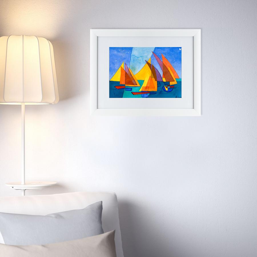 {} Картины в Квартиру Картина Гимн Паулю Клее (47х60 см) картины в квартиру картина пилигрим из мешхеда 47х60 см