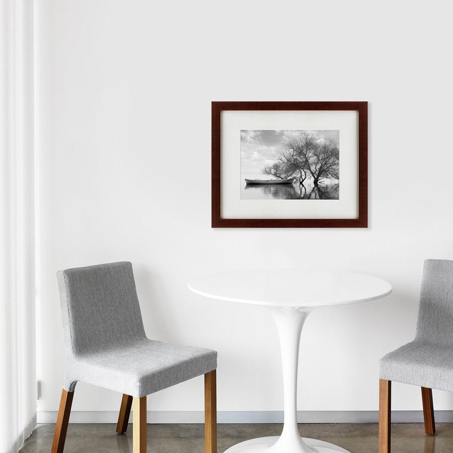 {} Картины в Квартиру Картина Лодка У Дерева (42х52 см) картины в квартиру картина попугай 42х52 см