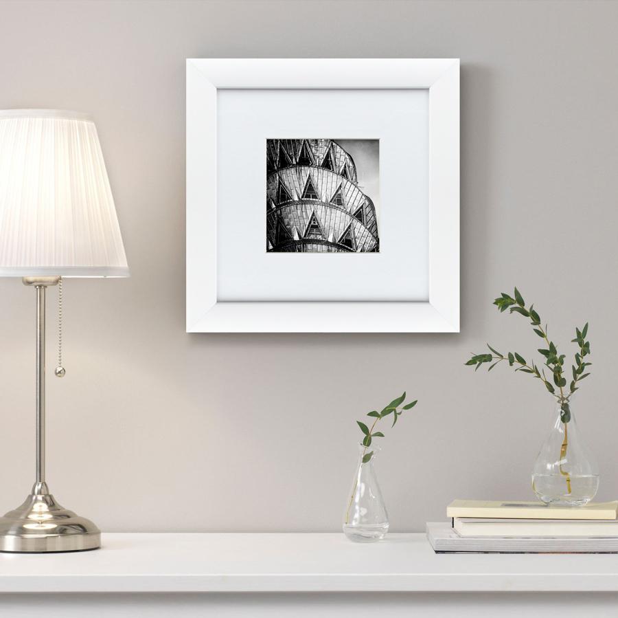 {} Картины в Квартиру Картина Окна Крайслер Билдинг (35х35 см) картины в квартиру картина бульдоги в шотландской клетке 35х35 см