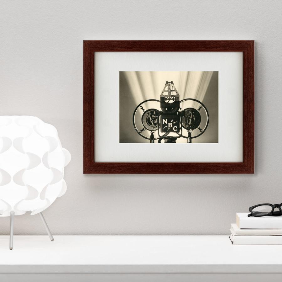 {} Картины в Квартиру Картина Радио NBC (35х45 см) картины в квартиру картина убранное поле 35х45 см