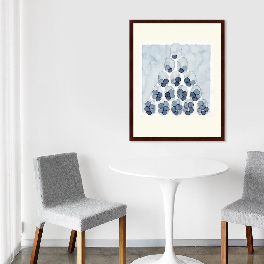 {} Картины в Квартиру Картина Indigo Pyramid (79х100 см) куплю квартиру в ялте евпотории
