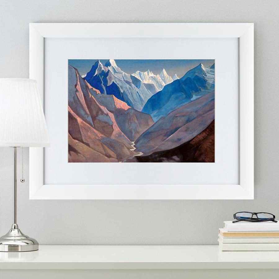 {} Картины в Квартиру Картина Гора «М» (47х60 см) картины в квартиру картина пилигрим из мешхеда 47х60 см