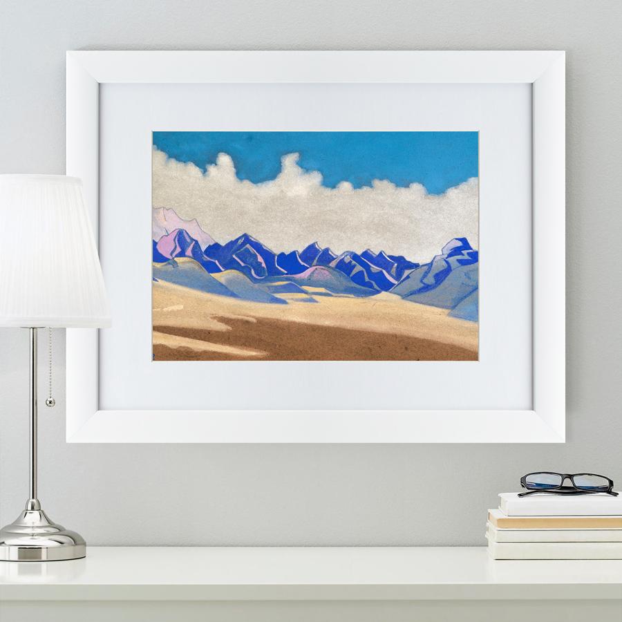 {} Картины в Квартиру Картина Каракорум (47х60 см) картины в квартиру картина бульдоги в шотландской клетке 35х35 см