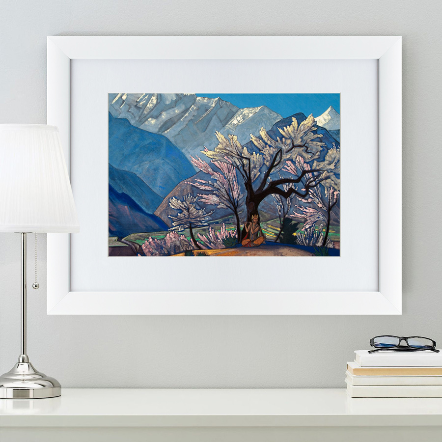 {} Картины в Квартиру Картина Кришна (47х60 см) картины в квартиру картина серобрюхий трагопан 42х52 см