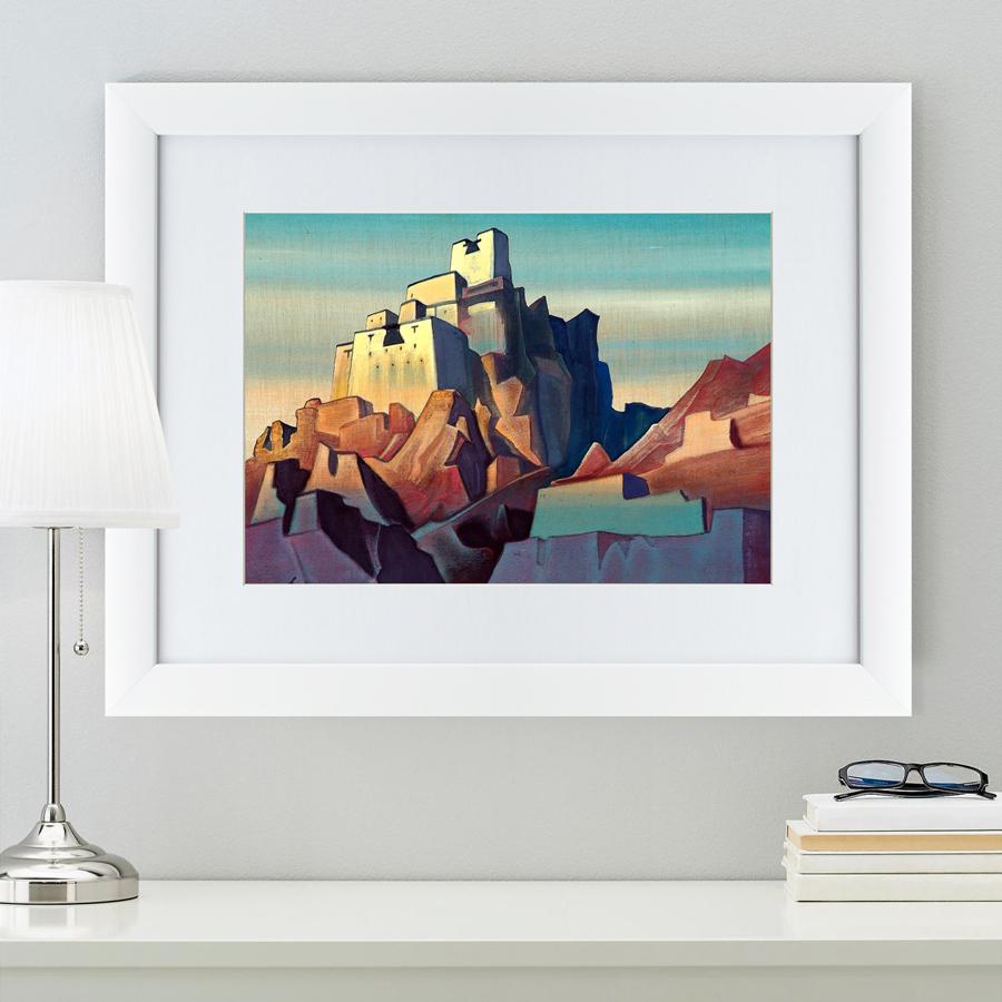 {} Картины в Квартиру Картина Замок В Ладакхе (47х60 см) картины в квартиру картина пилигрим из мешхеда 47х60 см