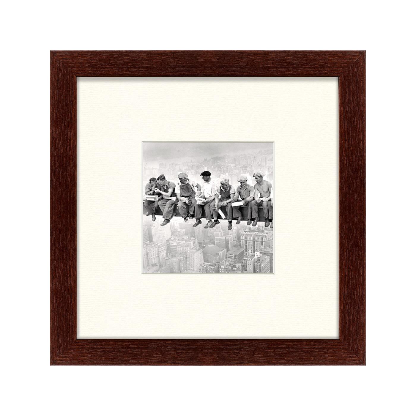 {} Картины в Квартиру Картина Обед На Небоскрёбе (35х35 см) картины в квартиру картина бульдоги в шотландской клетке 35х35 см
