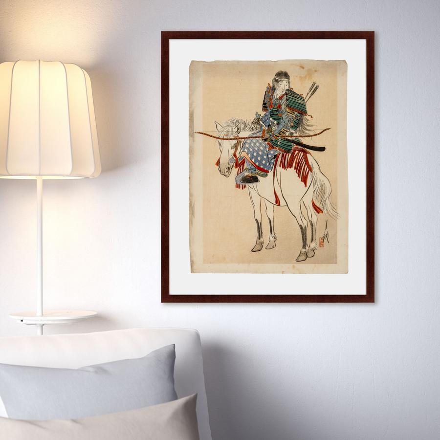 {} Картины в Квартиру Картина Самурай №2 (79х100 см) купить 2 комнатную квартиру в саратове вторичное жилье волжский район