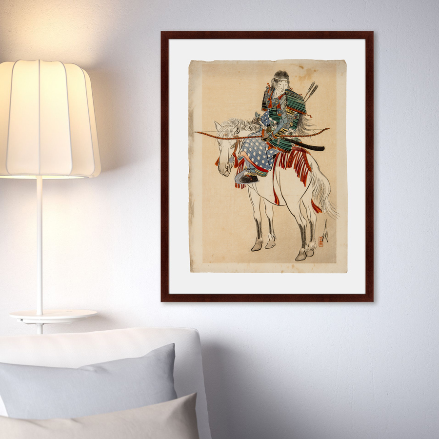{} Картины в Квартиру Картина Самурай №2 (79х100 см) картины в квартиру картина каллы 2 35х35 см