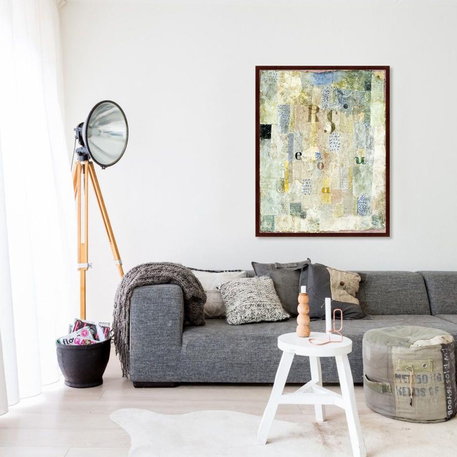 {} Картины в Квартиру Картина Vocal Fabric Of the Singer Rosa Silber (102х130 см) картины в квартиру картина дерево на воде 102х130 см