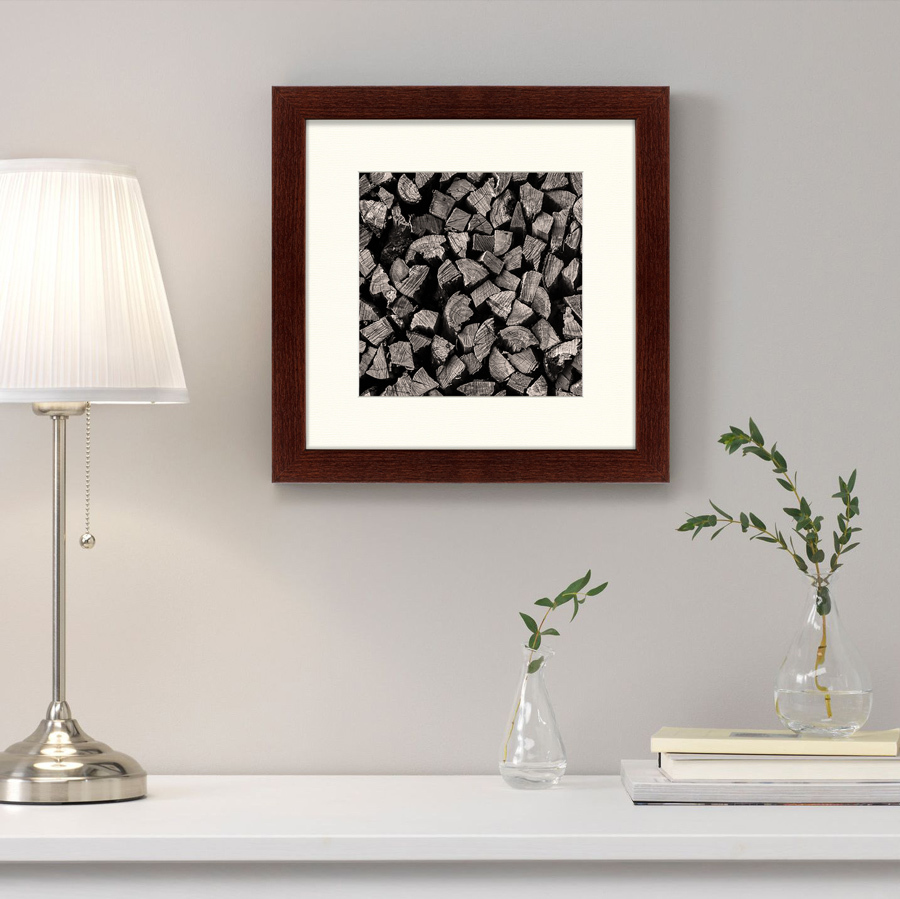 {} Картины в Квартиру Картина Поленница (35х35 см) картины в квартиру картина бульдоги в шотландской клетке 35х35 см