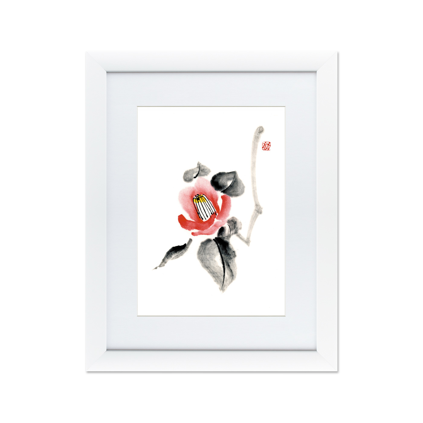 {} Картины в Квартиру Картина Японская Акварель Суми-э, №2 (47х60 см) картины в квартиру картина каллы 2 35х35 см