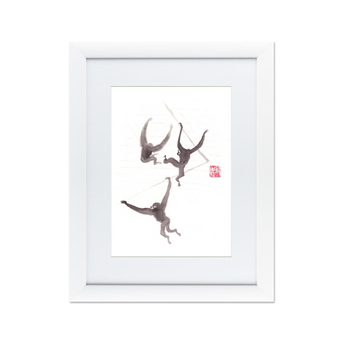 {} Картины в Квартиру Картина Японская Акварель Суми-э, №3 (47х60 см) картины в квартиру картина пилигрим из мешхеда 47х60 см