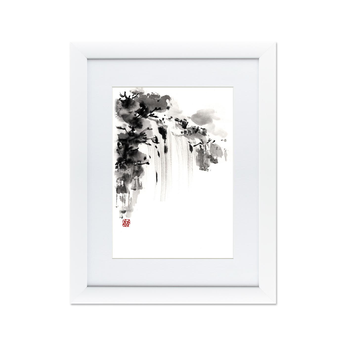 {} Картины в Квартиру Картина Японская Акварель Суми-э, №6 (47х60 см) куплю квартиру в ялте евпотории