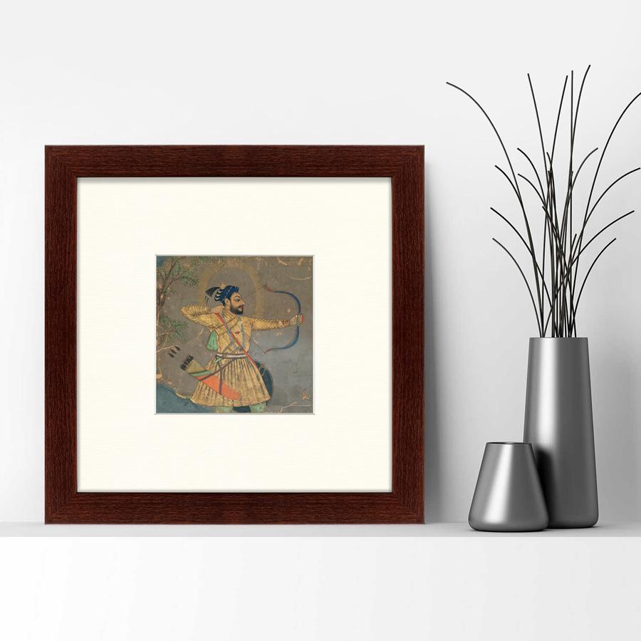 {} Картины в Квартиру Картина Султан Али Охотится На Тигра (35х35 см) картины в квартиру картина бульдоги в шотландской клетке 35х35 см