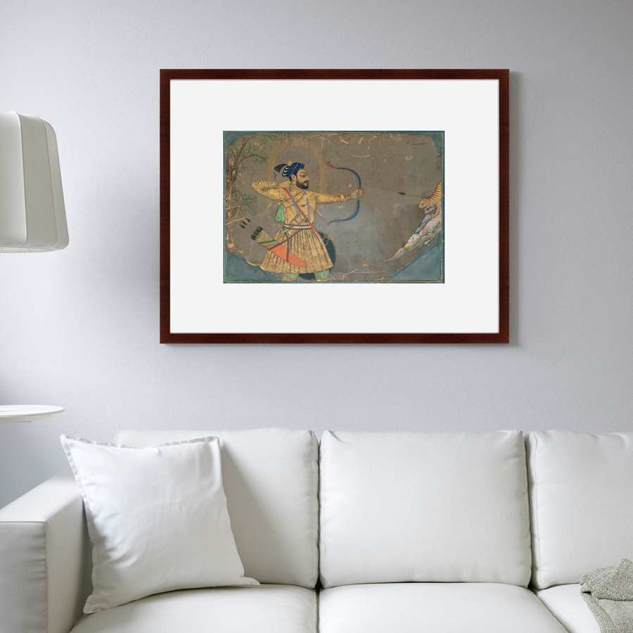 {} Картины в Квартиру Картина Султан Али Охотится На Тигра (79х100 см) картины в квартиру картина игра света 79х100 см