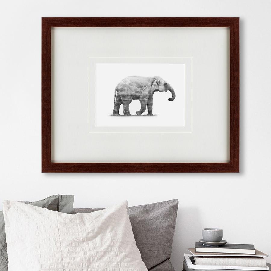 {} Картины в Квартиру Картина The Elephant (47х60 см) картины в квартиру картина пилигрим из мешхеда 47х60 см