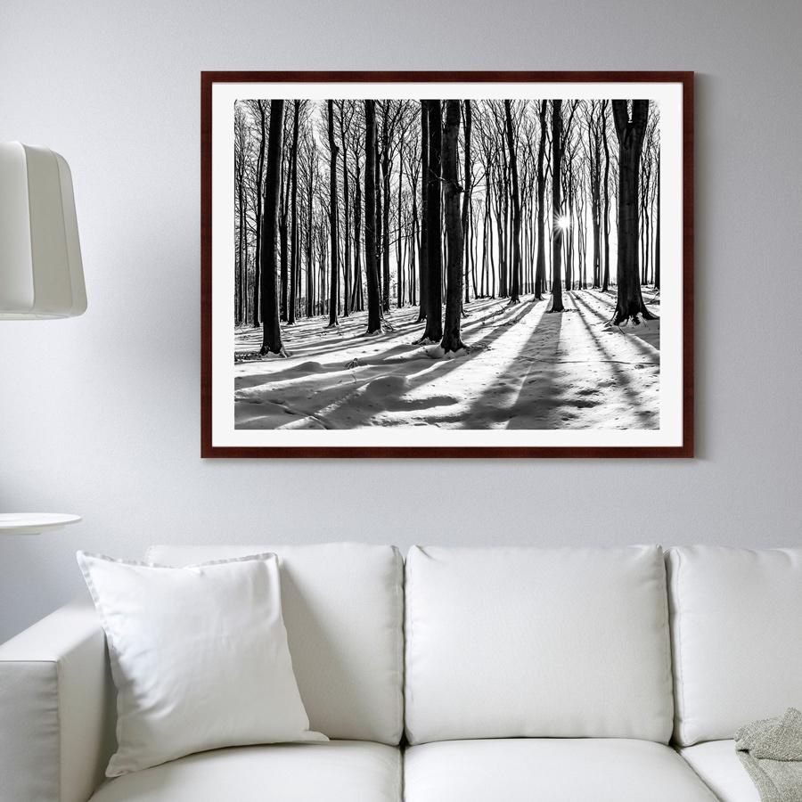 {} Картины в Квартиру Картина Утро В Лесу (102х130 см) картины в квартиру картина дерево на воде 102х130 см