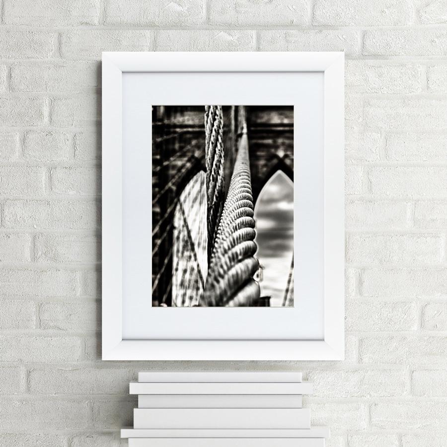 {} Картины в Квартиру Картина Ванты Бруклинского моста (47х60 см) куплю квартиру в ялте евпотории