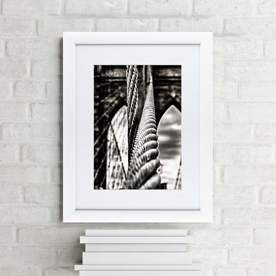 {} Картины в Квартиру Картина Ванты Бруклинского моста (47х60 см) картины в квартиру картина пилигрим из мешхеда 47х60 см
