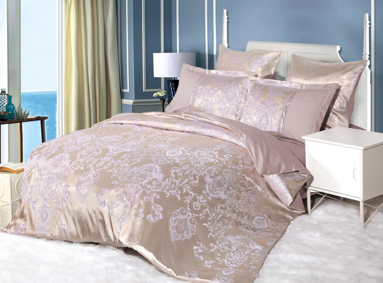 Постельное белье Cleo Постельное белье Meriel (2 сп. евро) постельное белье cleo постельное белье night 2 сп евро