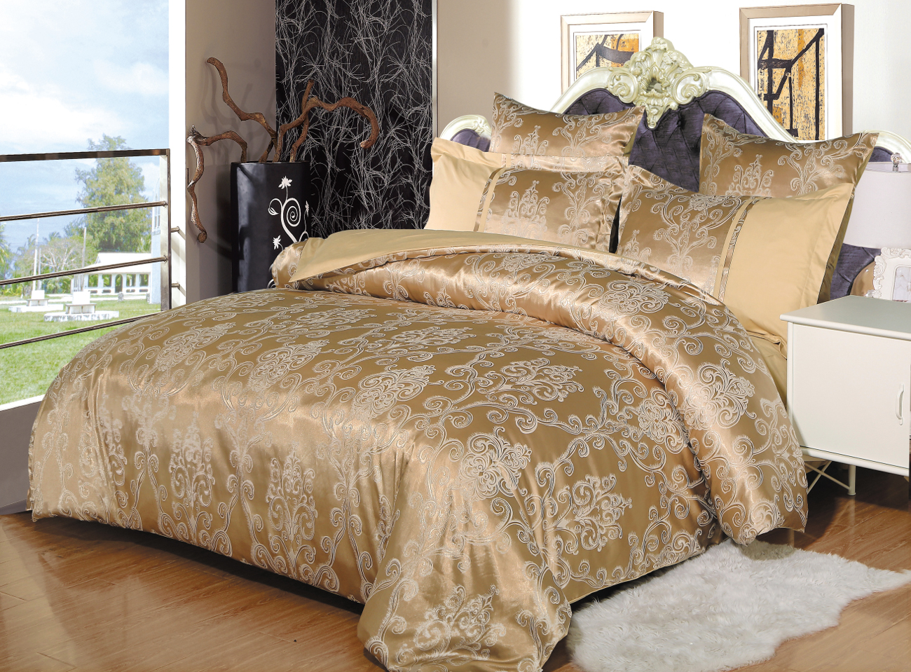 Постельное белье Cleo Постельное белье Olive (2 сп. евро) постельное белье cleo постельное белье night 2 сп евро