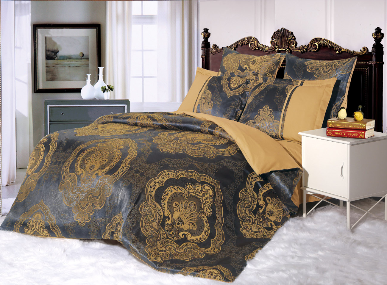 Постельное белье Cleo Постельное белье Maggie (2 сп. евро) постельное белье cleo постельное белье night 2 сп евро
