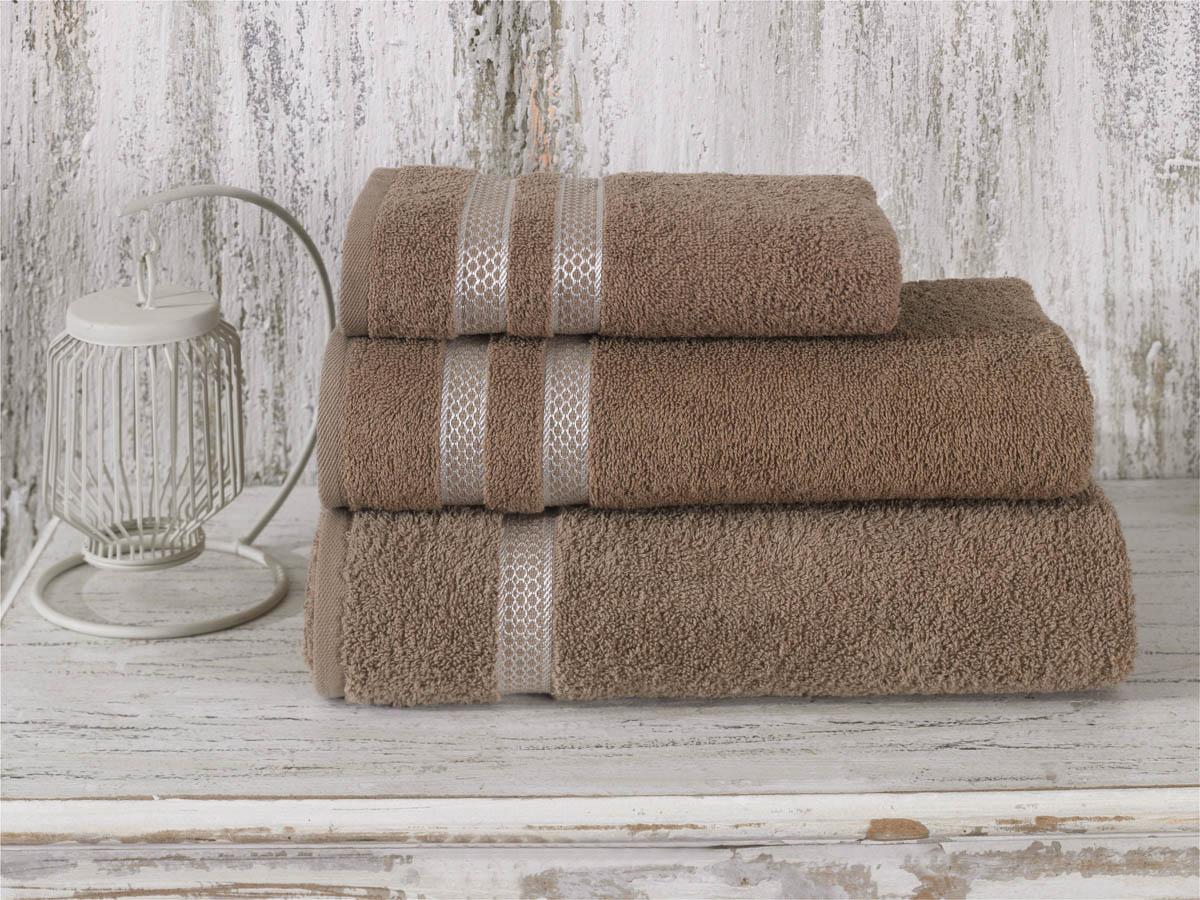 Полотенца Karna Полотенце Petek Цвет: Кофейный (50х100 см) полотенце 100 100 см авангард