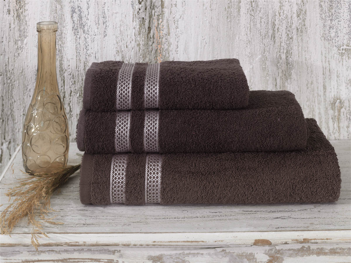 Полотенца Karna Полотенце Petek Цвет: Коричневый (50х100 см) полотенца karna полотенце petek цвет бежевый набор