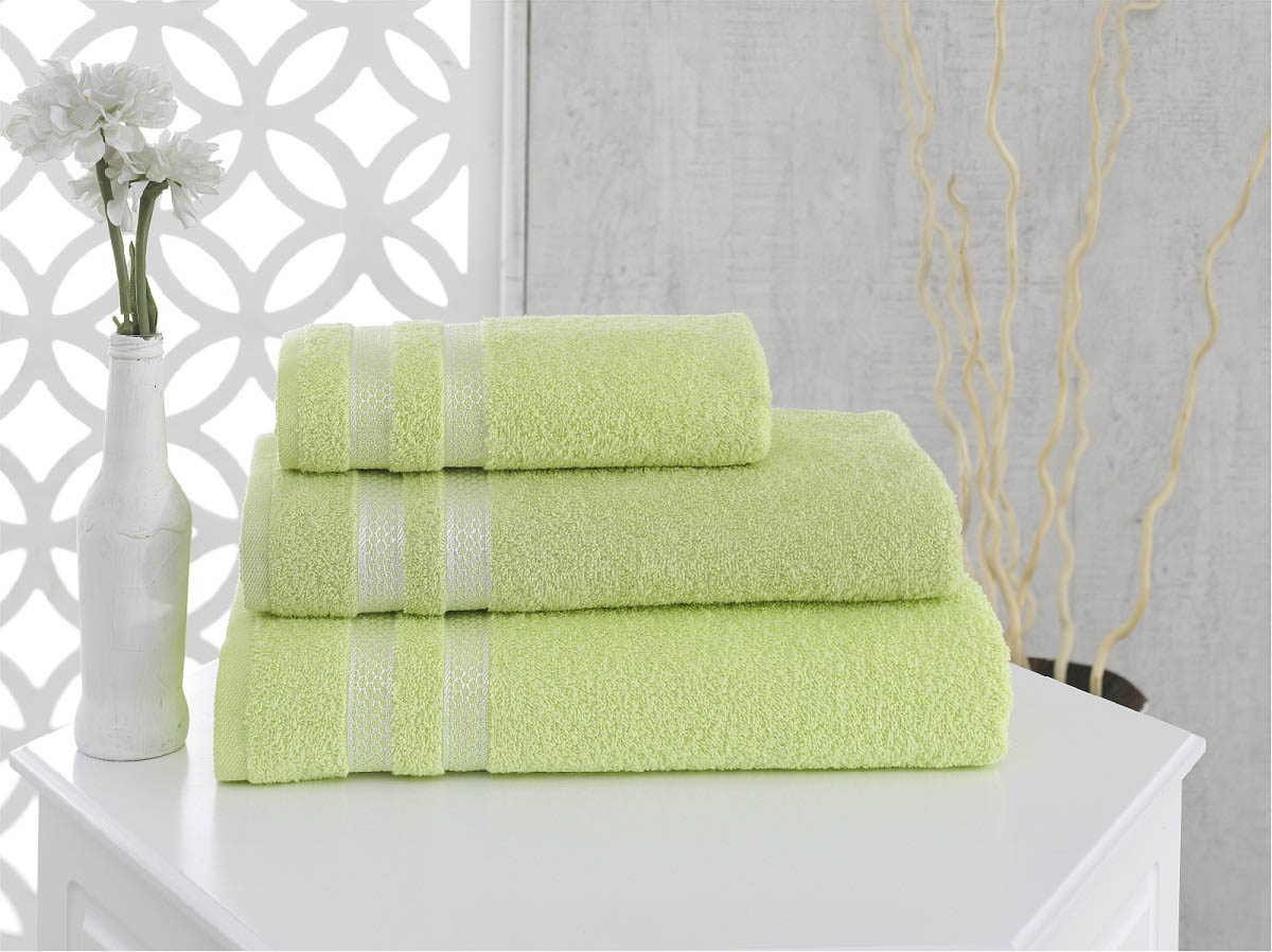 Полотенца Karna Полотенце Petek Цвет: Зеленый (50х100 см) полотенца karna полотенце petek цвет бежевый набор