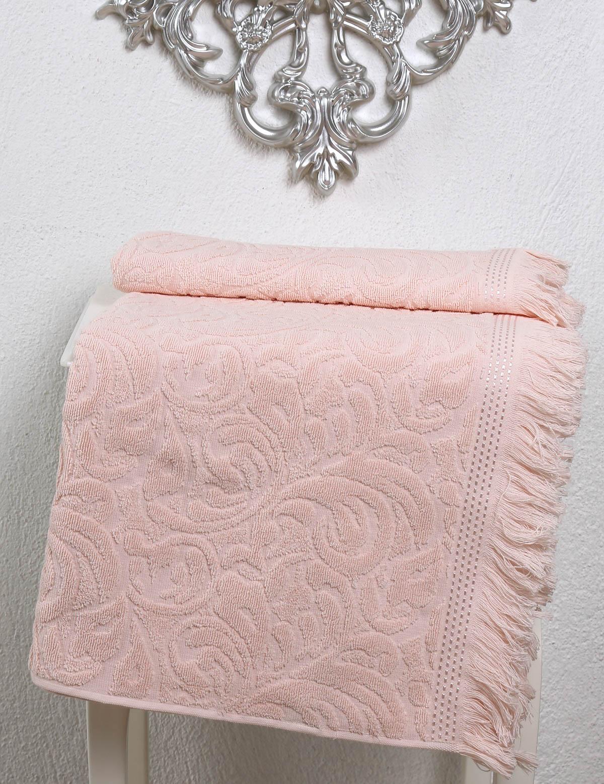Полотенца Karna Полотенце Esra Цвет: Абрикосовый (70х140 см) karna karna полотенце innes цвет красный 70х140 см