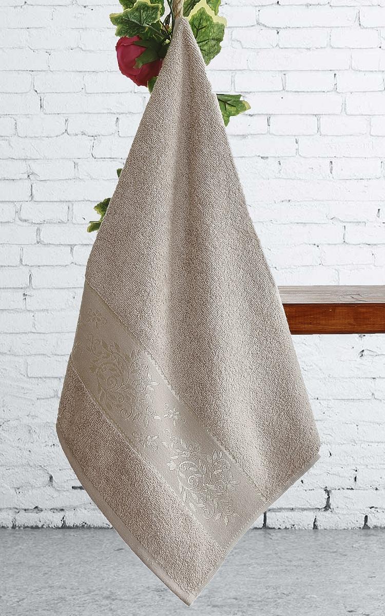Полотенца Karna Полотенце Lauren Цвет:  Бежевый (70х140 см) полотенца karna полотенце iteka цвет коричневый 70х140 см