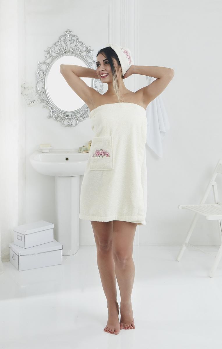Сауны, бани и оборудование Karna Набор для сауны Pera Цвет: Кремовый сауны бани и оборудование valentini набор для сауны fashion цвет песочный