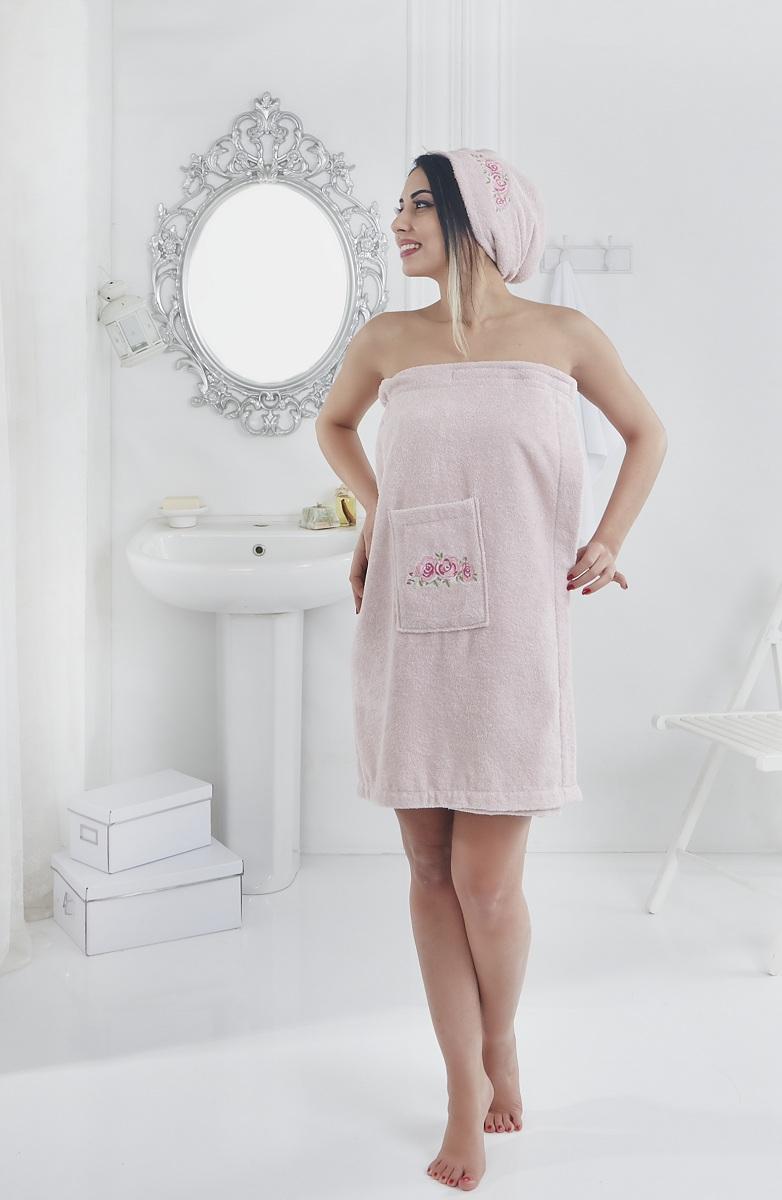 Сауны, бани и оборудование Karna Набор для сауны Pera Цвет: Розовый сауны бани и оборудование valentini набор для сауны flower цвет розовый