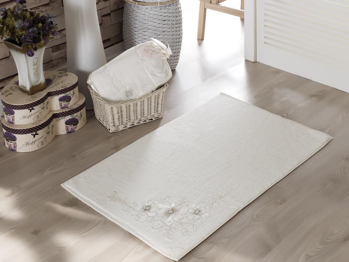 Аксессуары для ванной и туалета IRYA Коврик для ванной Pearly Цвет: Молочный (60х90 см) аксессуары для ванной и туалета