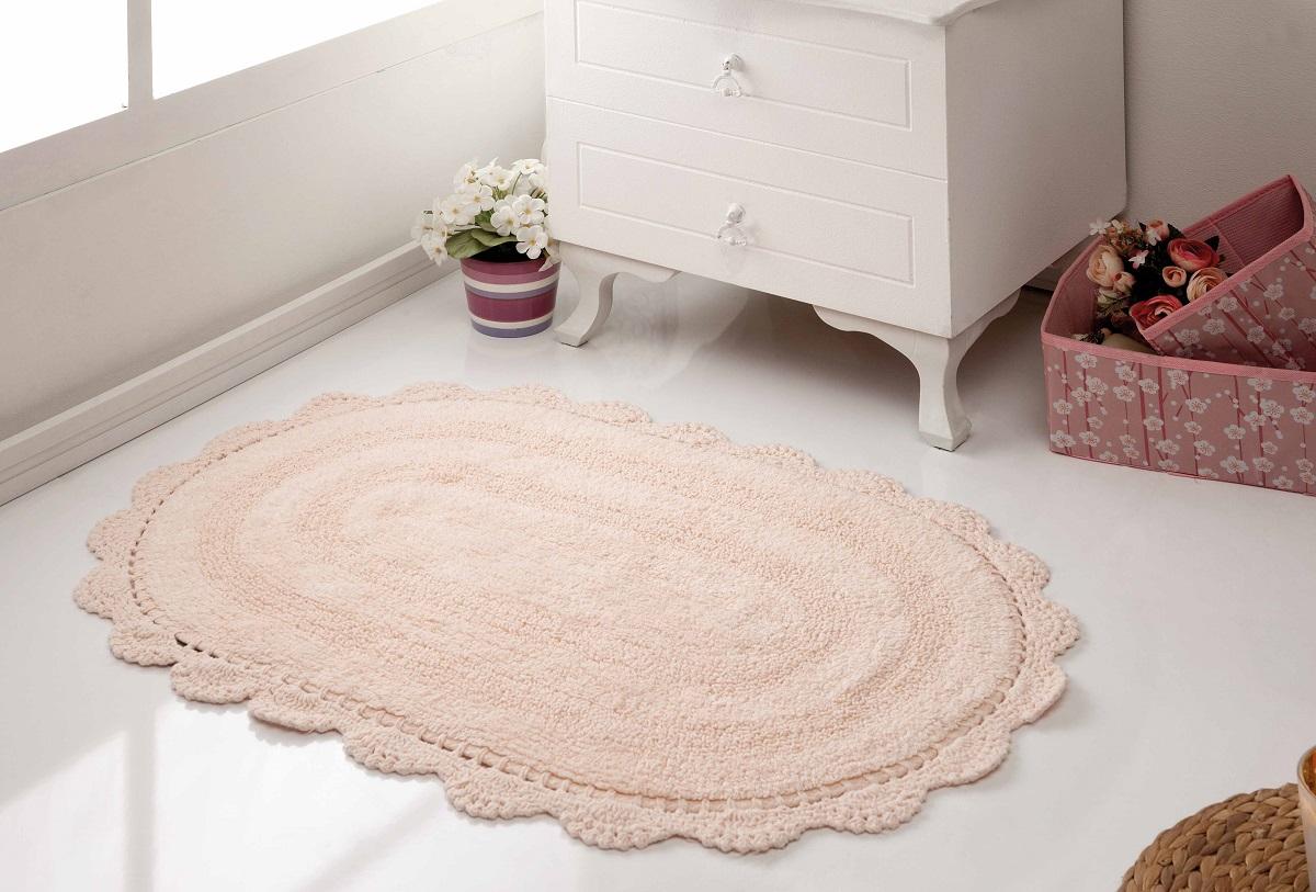 Аксессуары для ванной и туалета Modalin Коврик для ванной Diana Цвет: Абрикосовый (50х80 см) modalin modalin полотенце petek цвет розовый 70х140 см